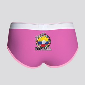 Colombia Flag World Cup Footb Women's Boy Brief